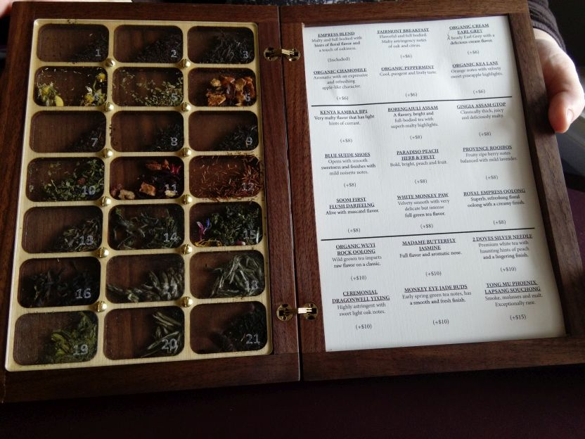 Empress tea list